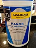 Sani Professional P92084 Sani-Hands 300 Ct. Hand Wipes - 6 / CS by Sani Hands