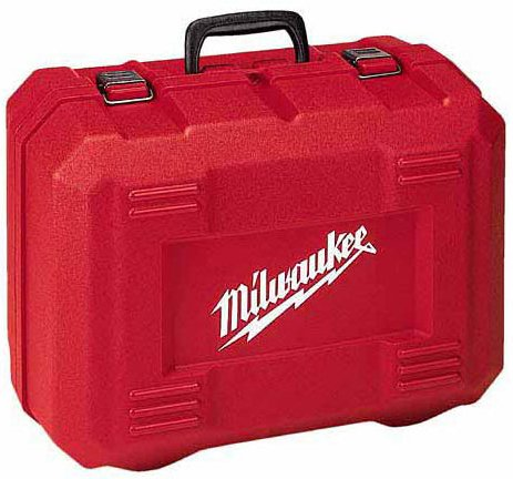 Milwaukee Electric Tool 48-55-9166 - Circular Saw Carrying Case, Material: Plastic, Color Red, Saw Type: Circular Saw