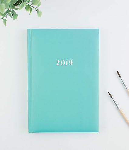 Casterli - Agenda Anual 2019 Día página - Básica pastel ...
