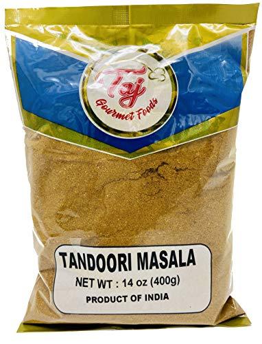 TAJ Premium Indian Tandoori Masala (Indian Spice Blend), 14-Ounce