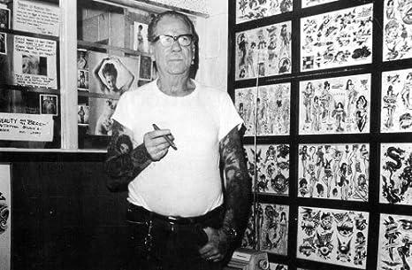 Sailor Jerry Tattoo Art 14 x 11 Photo Print
