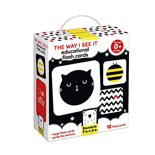 Banana Panda - The Way I See It Educational Flash Cards - Visual Learning Activity for Babies Ages 0 Months and Up