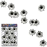 Bullets Holes Decal Stickers For Car Motorbike Boat Caravan - ST00010_SML - JAS Stickers