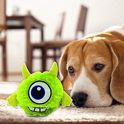 Sue Supply Juguetes para Mascotas, Perros, Gatos, Juguetes de Juego, muñeca Vibrante para Perro, Peluche, para Mascotas, Perros, Gatos, Ejercicio, ...
