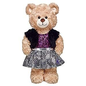 Amazon.com: Build-a-Bear Workshop Honey Girls Teegan ...