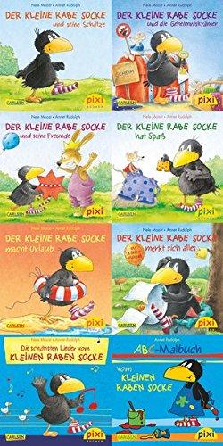 Download Pixi-Bundle 8er Serie 193. Der kleine Rabe Socke ebook