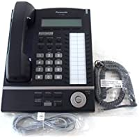 Panasonic KX-T7630-B 24-Button 3-Line LCD Display Telephone (Certified Refurbished)