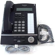 Panasonic KX-T7630-B 24-Button 3-Line LCD Display Telephone (Certified Refurbished)