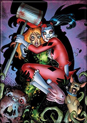Ata-Boy DC Comics Harley Quinn and Poison Ivy Cornered 2.5