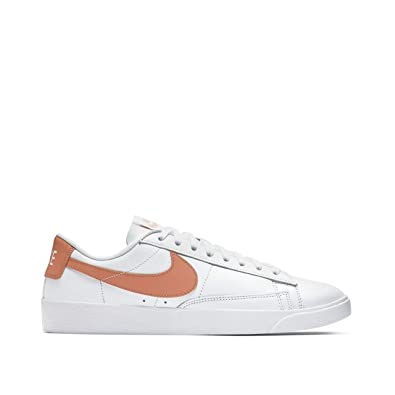2ea81785e0 Amazon.com | Nike Women's Blazer Low LE White/Rose Gold | Shoes