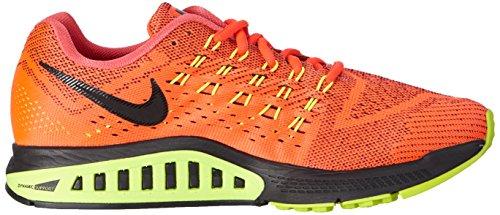 Nike Air Zoom Structure 18 - Zapatillas para hombre Rojo (brght crimson/blk-vlt-ghst grn 607)