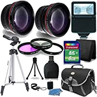 52mm Basic Starter Lens Accessory Kit for Nikon D3200 D3300 D5200 D5300 D5500 Digital SLR Camera