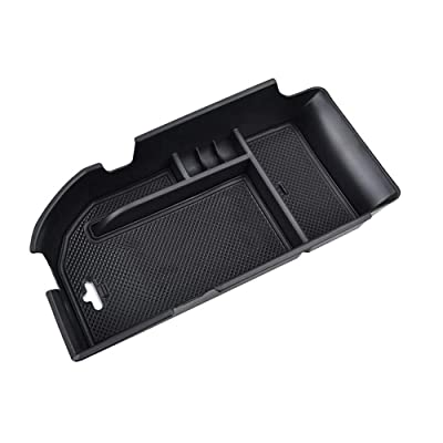 Salusy Center Console Armrest Storage Box Insert Organizer Tray Compatible with Toyota Camry 2020 2020: Automotive