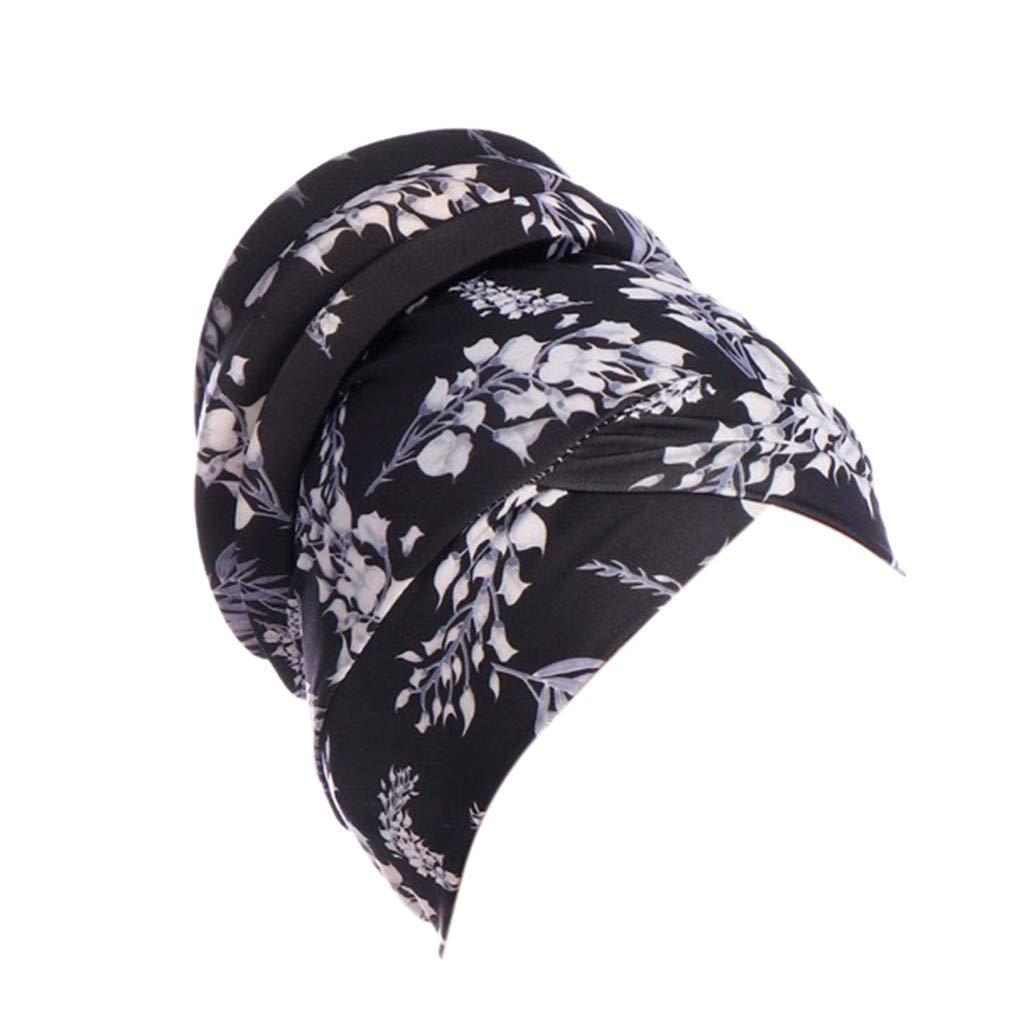 Femmes Inde Chapeau Musulman Unicolore Chemise Bonnet Echarpe Turban Bonnet Chaud Envelopp/é Musulmanes Coton Wrap Hijib Cap Lonshell