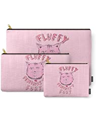 Society6 Fluffy Feminist Fury Carry-All Pouch