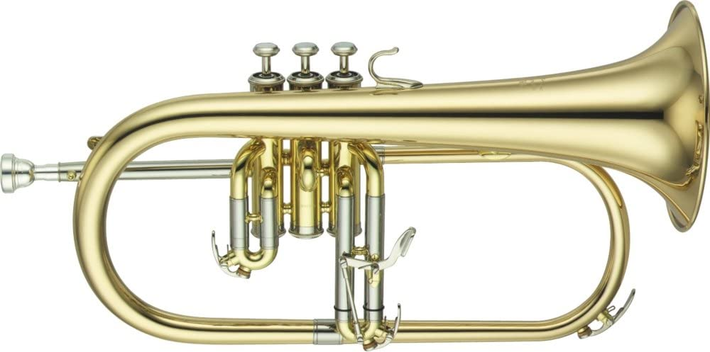 Yamaha YFH-631G Series Bb Flugelhorn: Musical Instruments