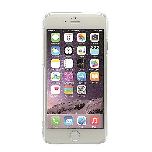 Uunique X Smiley Edelstein Ultra Slim Flexi Hartschalenhülle (für iPhone 6