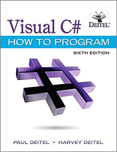Pdf (6th edition) visual basic 2012 how to program