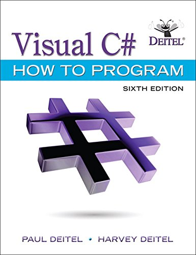 Visual C#:How To Program W/Access