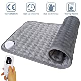Electric Heating Pad for Back Pain, Cramps, Sore Feet, Legs, Shoulder & Knees