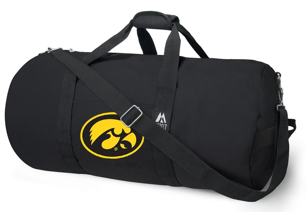 Broad Bay OFFICIAL Iowa Hawkeyes Duffle Bag or University of Iowa Gym Bags Suitcases