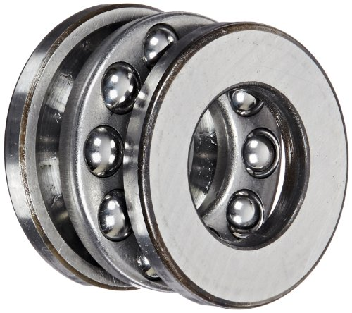 - SKF 51205 Grooved Race Thrust Bearing, 3 Piece, ABEC 1 Precision, 90° Contact Angle, Open, Steel Cage, Metric, 25mm Bore, 47mm OD, 15mm Width, 55000.0 pounds Static Load Capacity, 27600.00 pounds Dynamic Load Capacity