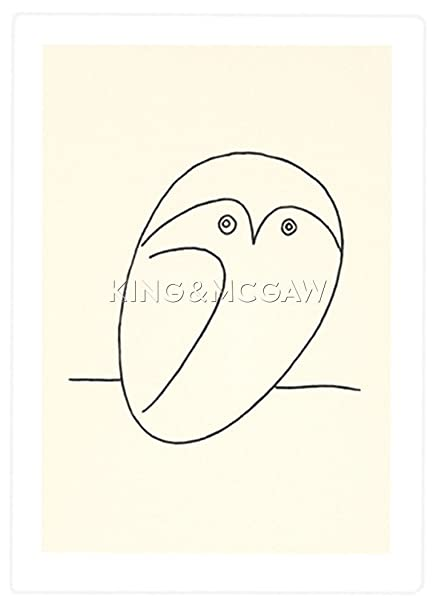 Le Hibou (The Owl) By Pablo Picasso: Amazon co uk: Kitchen & Home