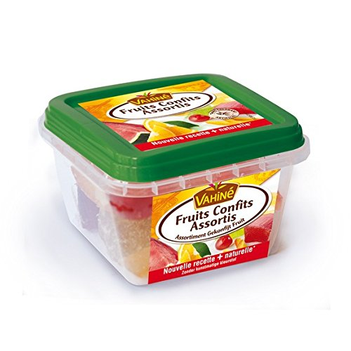 Vahine - Assorted Candied Fruits (Watermelon, Cherries, Orange,Angelica) - Fruits Confits Assortis- 150g