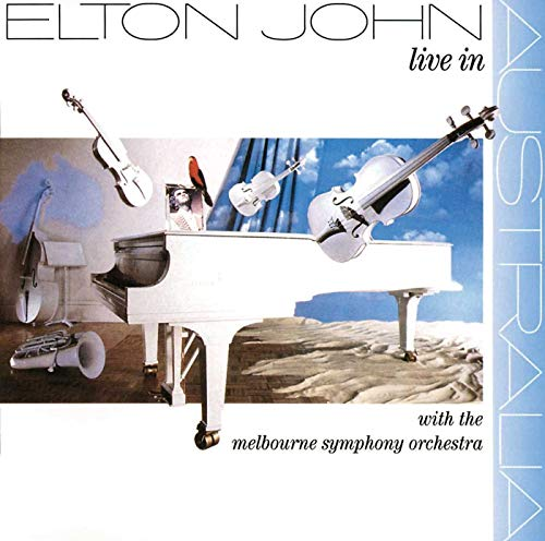 Live In Australia With The Melbourne Symphony Orchestra [2 LP] (Melbourne Home Stores)