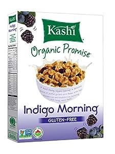 Kashi Organic Indigo Morning Gluten Free Cereal, Non-GMO ...