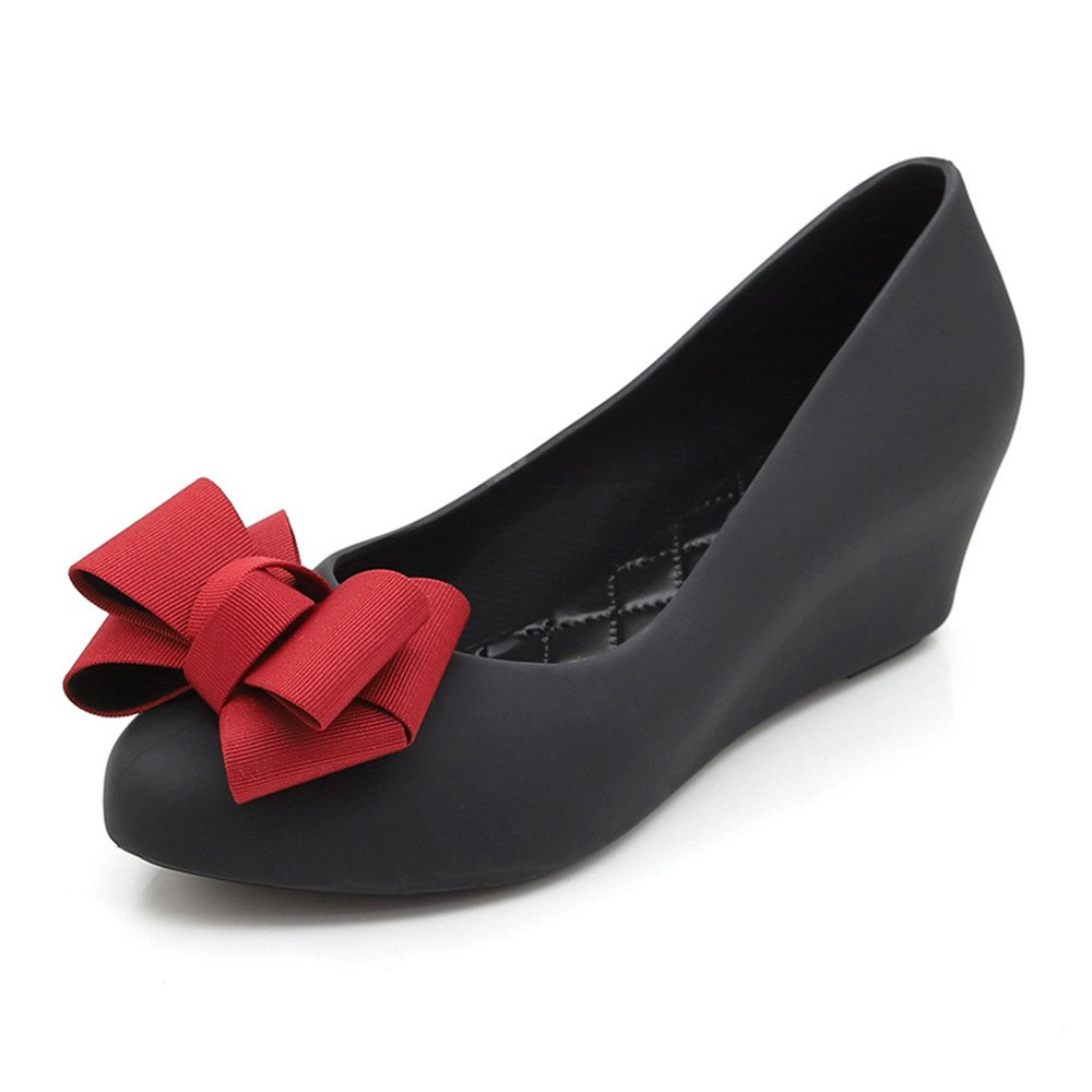 pit4tk Fasgion Jelly Flat Sandals Flat Jelly Flowers Shoes Women Casual Shoes Breathable Shoes B07DVL38QP 39/8.5 B(M) US Women|Black f57d29