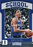 #8: 2017-18 Panini Contenders Drafts Picks School Colors #5 Jayson Tatum Duke Blue Devils Rookie Basketball Card
