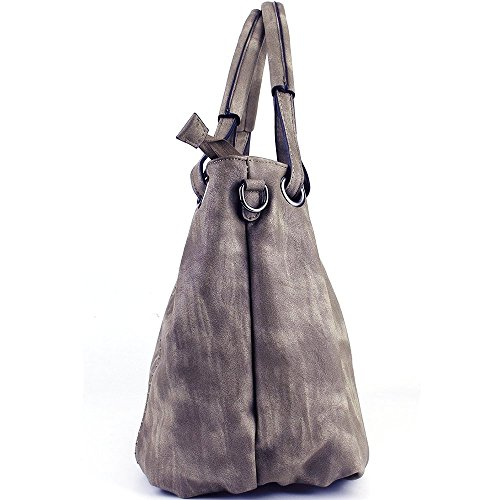 30cm Bags Ladies 40cm PU Leather W Capacity Leather Bags JOYSON Hobo H Shoulder Light Handbags Crossbody Coffee PU 19cm Handbags Women Large L WnnacUf