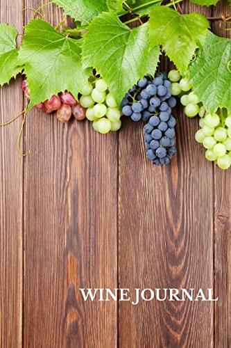 Wine Journal: Wine Lovers Gifts 6x9 Inches Wine Tasting Notes Journal PDF