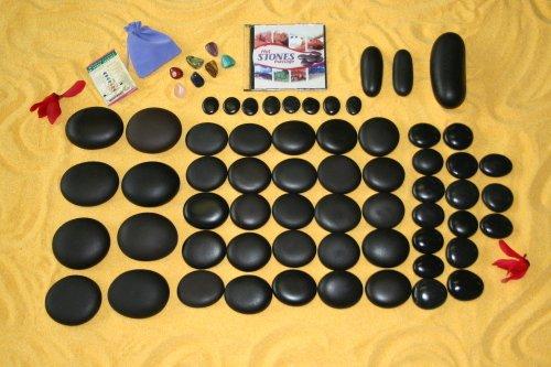 Signature Massage Set (67 Stones) w/ Dvd
