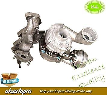 Asiento SKODA VW Turbo cargador 2.0 TDI BKD 103 KW 140bhp 03 g253019h 756062 *