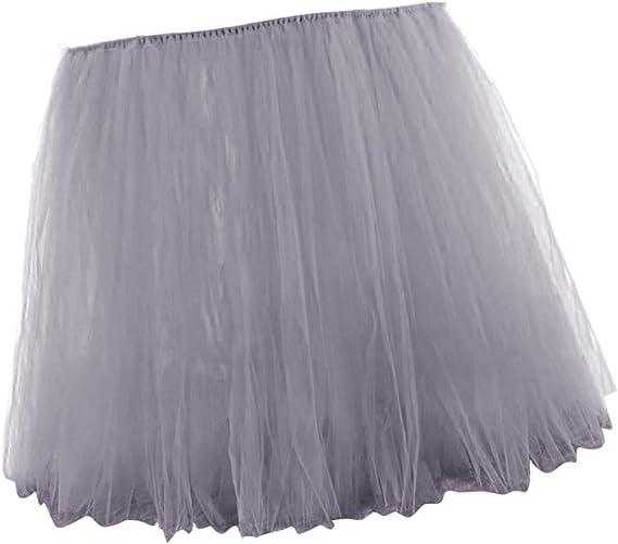 Compra F Fityle Tulle de Mesa de Tul Vajilla Cubierta de Mantel Decorado para Fiesta y Boda y Cumpleaños para Simple de doblado - Gris en Amazon.es