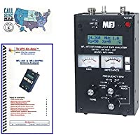 MFJ-269C Antenna Analyzer with Nifty! Quick Refernce Guide and Ham Guides Pocket Reference Card Bundle!