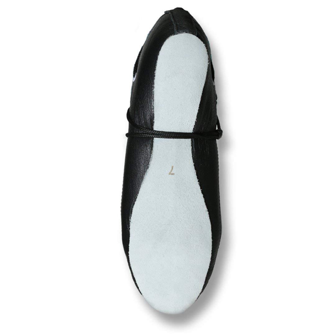 Highlander Highland Dance Shoes Deluxe Ultra Soft Black Leather