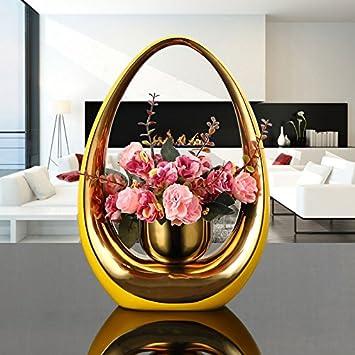 STJK$BMJW Das Wohnzimmer Deko Vase Farbe Tv Schrank Schlafzimmer Dekoration  Keramik Blume Ornament