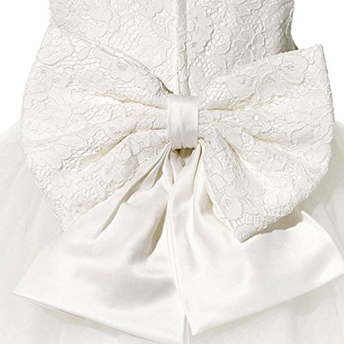 fc7f7025c0e7 SZYL Baby Girls Lace Baptism Flower Dress Wedding Pegeant Tutu - Buy ...
