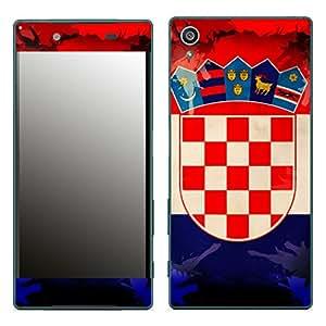 "Motivos Disagu Design Skin para Sony Xperia Z5: ""Kroatien"""