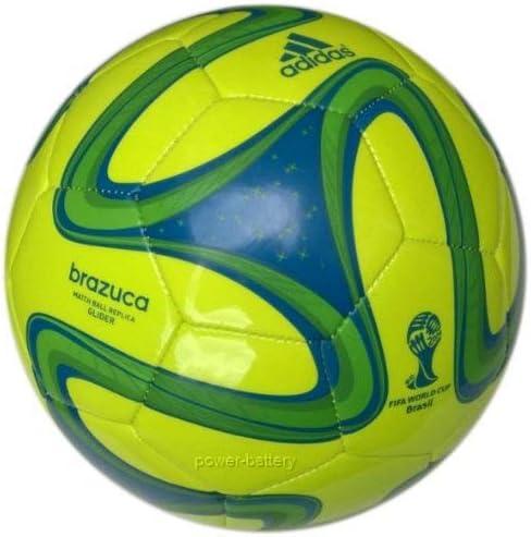 adidas Brazuca Glider S04467 - Balón de fútbol del Mundial de ...