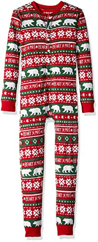 Little Blue House by Hatley Womens Beary X-mas Family Union Suits