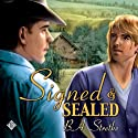 Signed and Sealed Audiobook by B. A. Stretke Narrated by Jeff Gelder