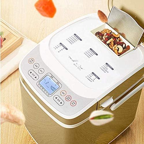 Machine à pain entièrement automatique Toasters en acier inoxydable alimentation 220v Double Fruit multifonction Pain Roaster Tube Intelligent Chauffage pétrir la pâte KNDTA