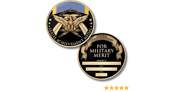 USA Challenge Air Forces Air Medal Meritorious Achievement In Aerial Flight Coin