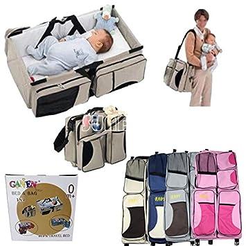 SUNDELY® Multifunción Portátil Plegable Viaje guardería cuna bebé ...
