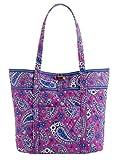 Vera Bradley Vera XL Tote Bag in Boysenberry