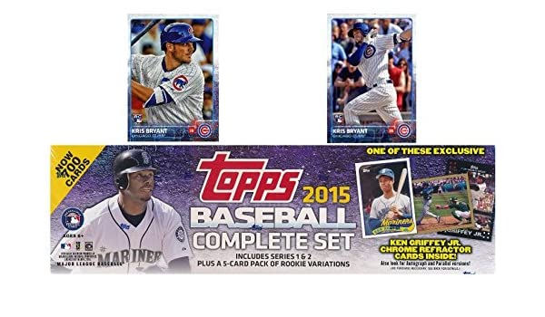 2015 Topps Baseball Exclusive Massive 706 Card Retail